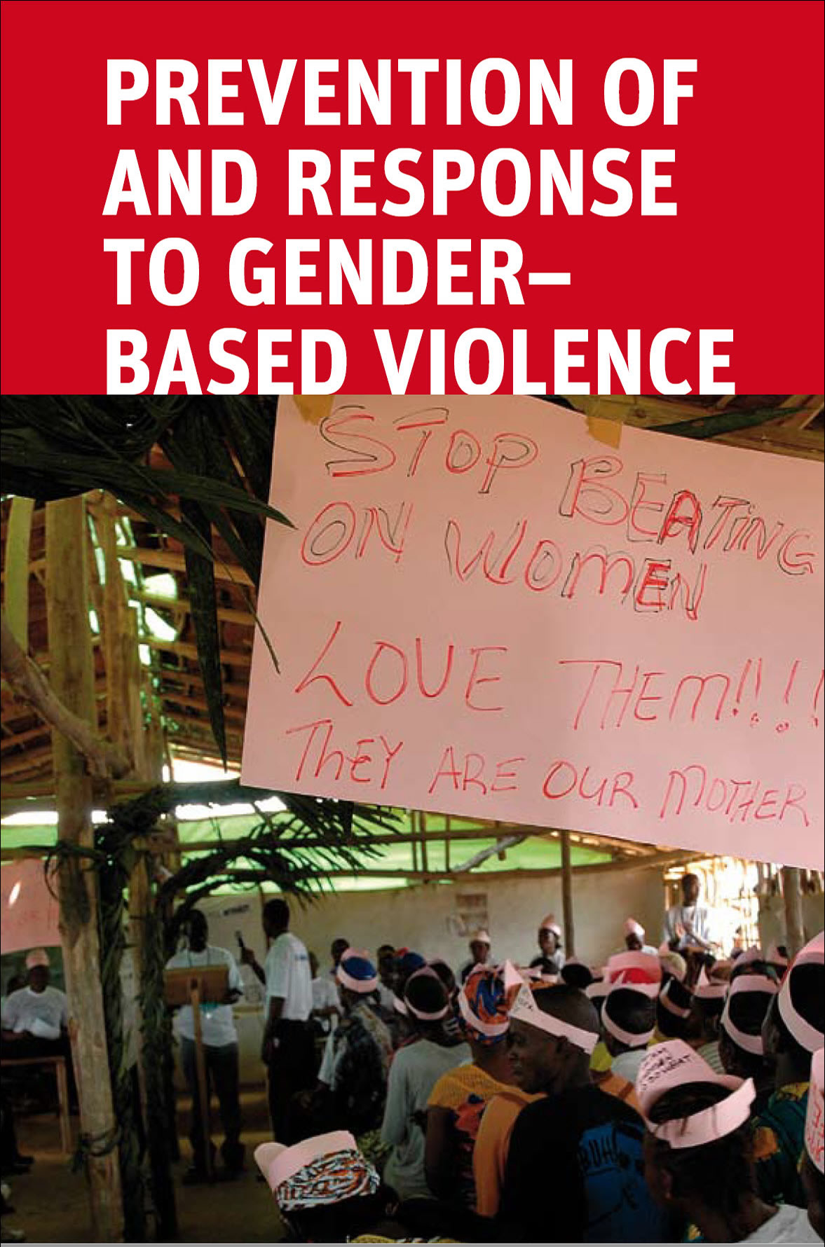 PREVENTION OF AND RESPONSE TO GENDER BASED VIOLENCE